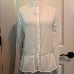 NWT Sheer Blouse